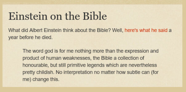 Einstein-on-the-bible