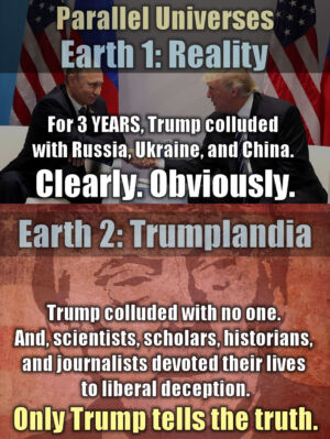 Trumplandia vs Reality 1
