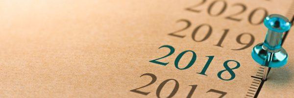 Timeline, Year 2018